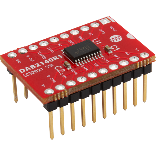 Integrated Circuit - DAB2140, Multi-Mode VCF, Sound Semiconductor image 1