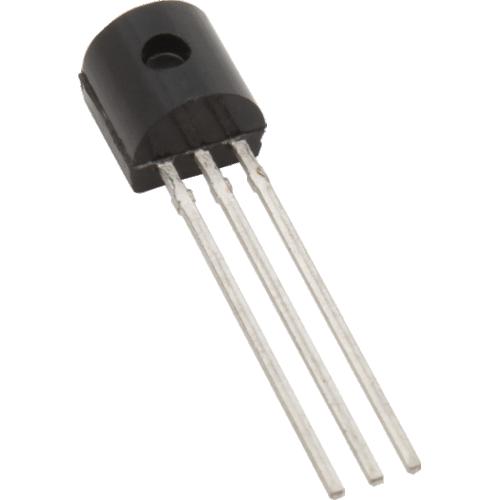 Transistor - 2N3906, TO-92 case, PNP image 2