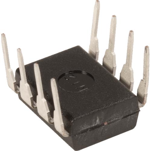 Op-Amp - NJM4580D, Dual, Audio, DIP 8 image 2