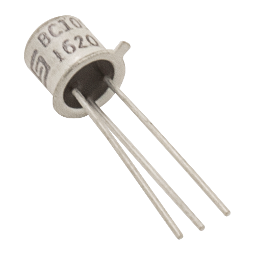 Transistor - BC109C, TO-18 case, NPN image 1