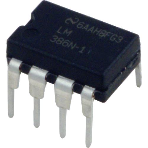 Audio Power Amplifier - LM386N-1, Low Voltage image 1