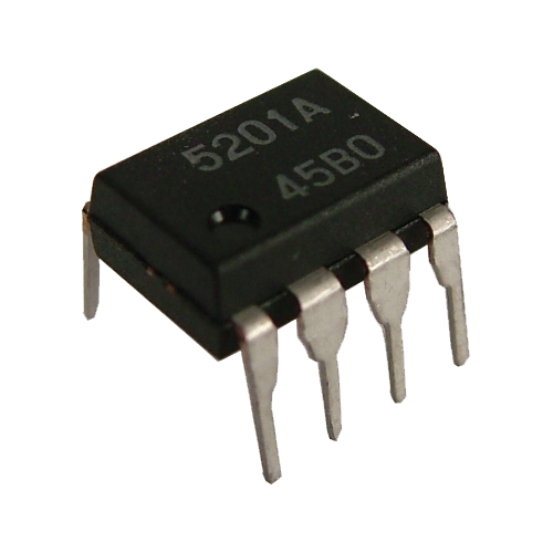 Op-Amp - M5201, Dual, With Switch, 8-Pin DIP image 1