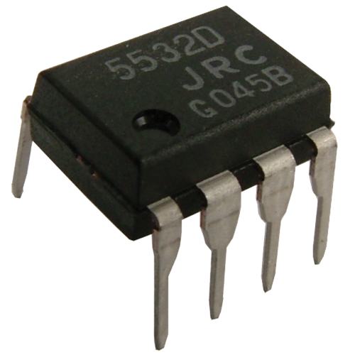 Integrated Circuit - NE5532, Low-Noise Dual Op-Amp image 1