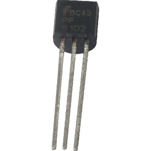 Transistor - JFET N-Ch Transistor Lo Freq / Lo Noise, PF5102 image 1