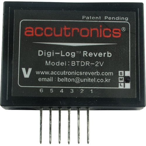 Reverb Module - Accutronics, Digi-Log, vertical mount, mini image 1