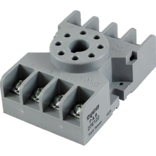 Socket - 8 Pin Octal, Relay, terminal strips image 1