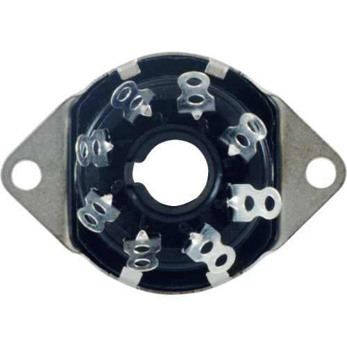 Socket - 8 Pin, Phenolic, top mount image 2
