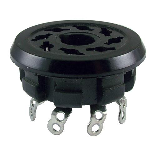 """Socket - 8 Pin, 1.14"""" mounting hole image 1"""