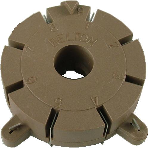 Socket - Belton, 8 Pin, for Auto Wave Soldering image 1
