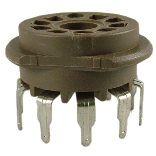 Socket - Belton, 9 Pin PC Mount Standoff image 1