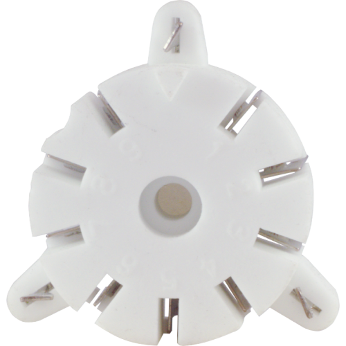 Socket - 9 Pin, Ceramic, for Auto-Wave Soldering image 2