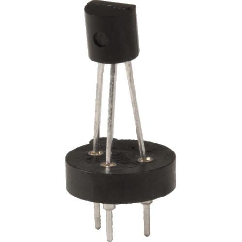 Transistor Socket - Mill Max, 3 Pin, Machine Pin, Through Hole  image 1