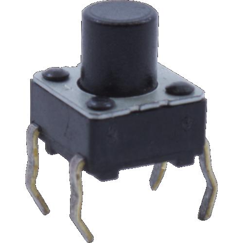 Switch - Korg, Momentary Tactile Switch, Medium Length Actuator image 1