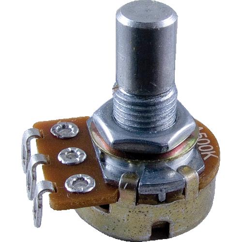 Potentiometer - Alpha, Audio, Solid Shaft, 16mm image 1