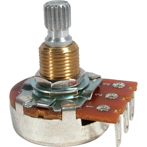 Potentiometer - Bourns, Audio, Knurled Shaft image 1