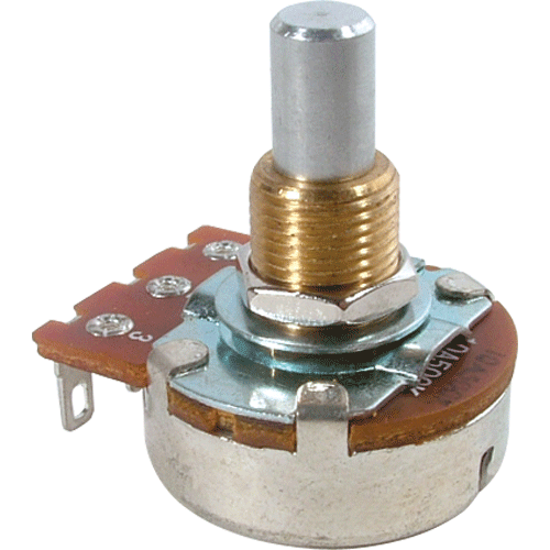 Potentiometer - Bourns, Audio, Solid Shaft, 24mm image 1