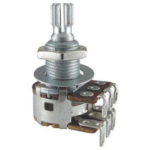 Potentiometer - Bourns, Dual MN Taper, Knurled Shaft image 1