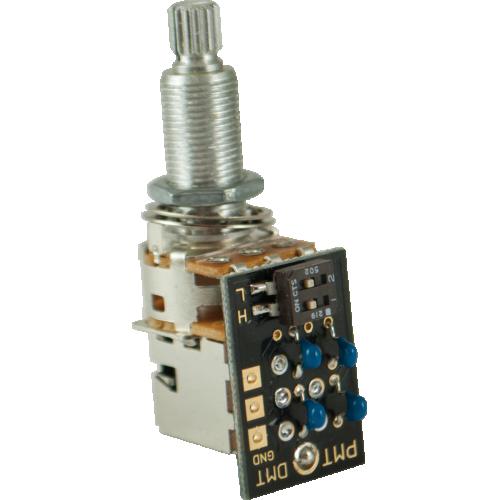 "Potentiometer - PMT, Dual Mode Tone Control, 3/4"" Shaft/Bushing image 1"