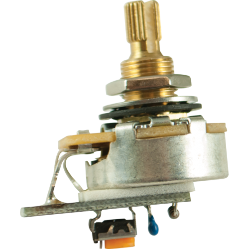 """Potentiometer - PMT, CTS, Audio, Variable Treble Bleed, 3/8"""" image 1"""