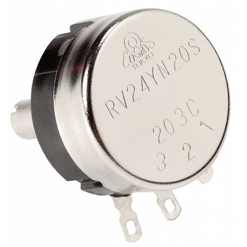 Potentiometer - Tocos, RV24, Linear, 10%, 6mm Shaft image 2