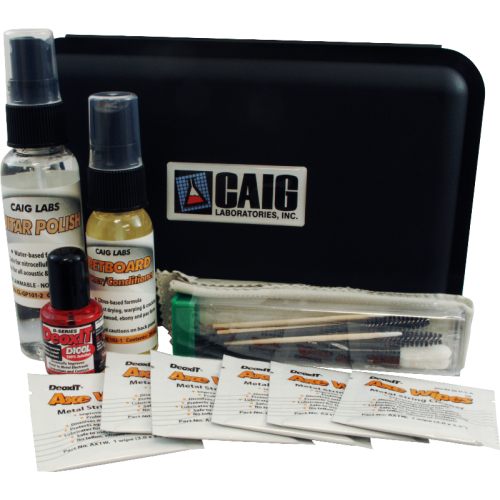 Guitar Care Kit - Caig, for cleaning / maintenance image 1