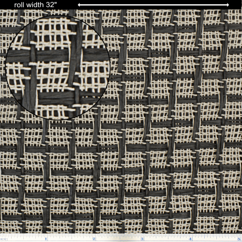 """Grill Cloth - Marshall, Large Check, 32"""" Wide image 1"""