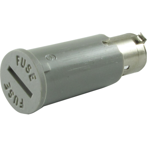 Fuse Holder Cap - Peavey, top-slotted for screwdriver image 1