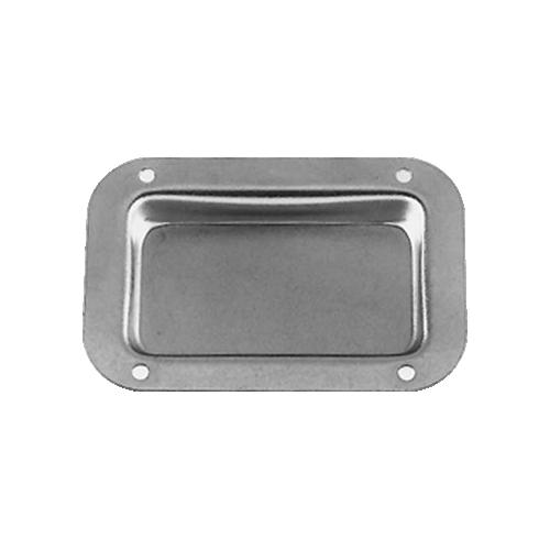 """Jack Plate - Plain Dish, 9/16"""" Deep, 18 Gauge Steel image 1"""