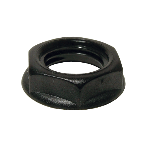 """Nut - Cliff, Hex, for mounting 1/4"""" Jacks image 1"""