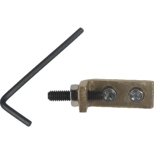Tremolo Stopper - Brass Block, Hex Screw, Allen Key image 1