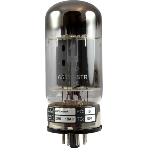 Vacuum Tube - 6550A-STR, Tube Amp Doctor, Premium Selected image 1