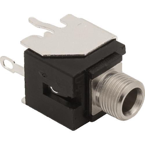 3.5mm Jack - Qingpu, Eurorack, Mono, Switched Tip, Snap-In, PCM image 1