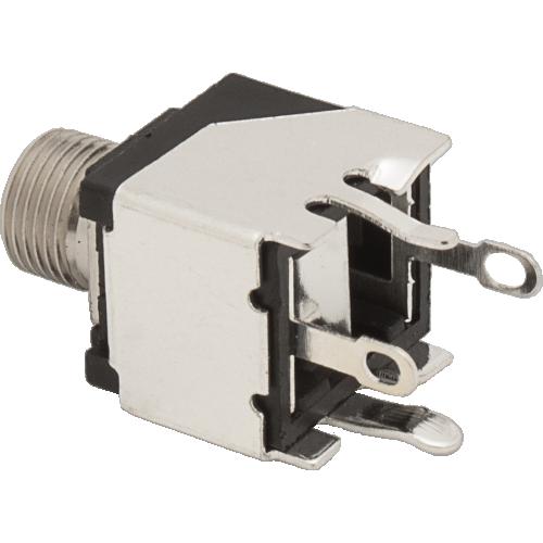 3.5mm Jack - Qingpu, Eurorack, Mono, Switched Tip, Snap-In, PCM image 2