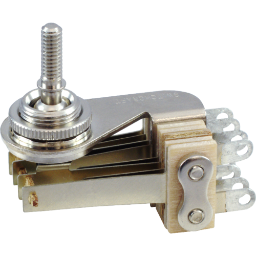 Switch - Switchcraft, Pickup Selector Toggle, DPDT, Right Angle image 1