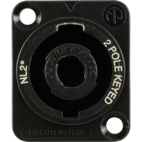 Jack - speakON, 2 Pole, D-Size Flange, Panel Mount  image 2