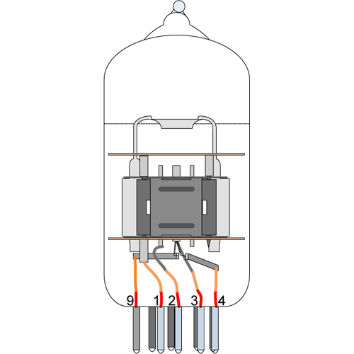 Vacuum Tube - 12AX7WA, Sovtek image 3