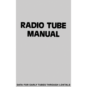Radio Tube Manual