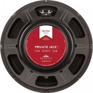 "Speaker - Eminence® Redcoat, 12"", Private Jack, 50W, B-stock"