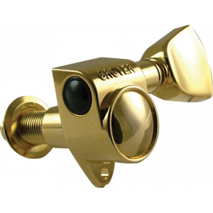 Tuning machine - Gibson® modern gold with metal buttons
