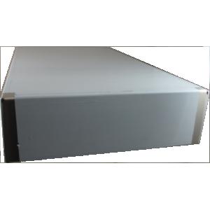 HWCHAS1310BK Black//Clear Aluminum//Wood Enclosure