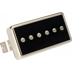 Pickup - Gibson, Single Coil P-90, Bridge, Black w/ Chrome