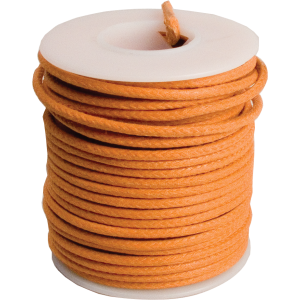Wire - 20 AWG Solid Core, Lacquered Cloth Cover, 600V