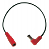Cable - red right-angle reverse-polarity jumper image 1
