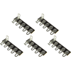 Terminal Strip - 5 Lug, 5th Lug Common, Horizontal, package of 5 image 1