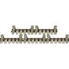 Terminal Strip - 6 Lug, 1st & 6th Lug Common, Horizontal image 1