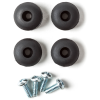 Rubber feet - Dunlop, for Crybaby, includes screws image 1