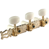 Tuners - Gotoh, Lyra-style for Classical Guitar, flash gold image 2