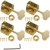 Tuners - Gotoh, 4 in line, Gold, for Pre-CBS Fender Bass image 1