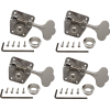 Tuners - Gotoh, Large Nickel for Bass, 4-in-a-line image 1