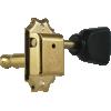 Tuners - Gotoh, SD510, gold, keystone knob, 3 per side image 4